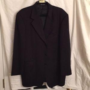 Pal Zileri Men's Sport Coat Wool 44R Tweed